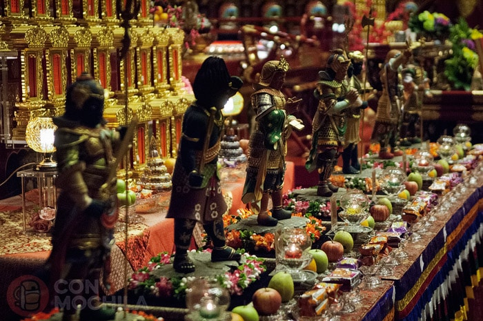 Otras figuras del templo
