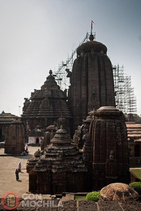 El templo de Lingaraj de Bhubaneshwar