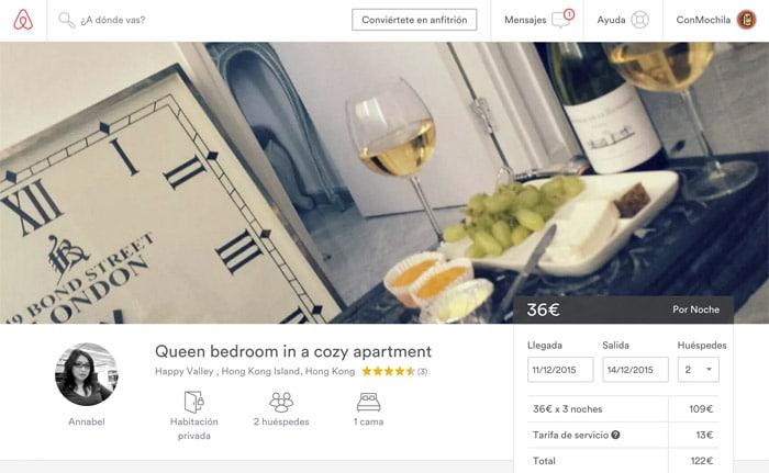 Ficha del apartamento que nos gusta