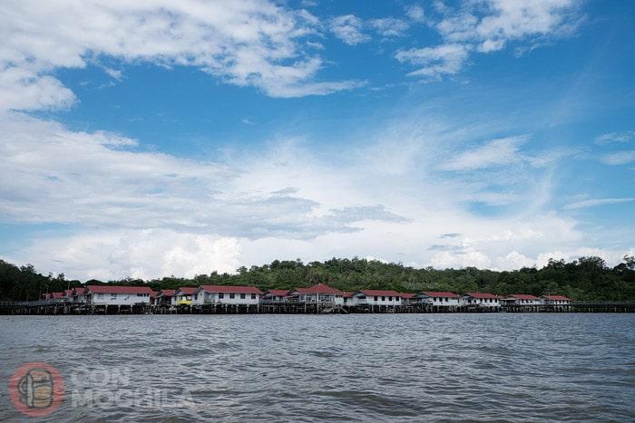 Kampong Ayer, el pueblo flotante