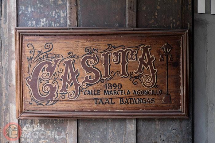 Entrada a la Casita