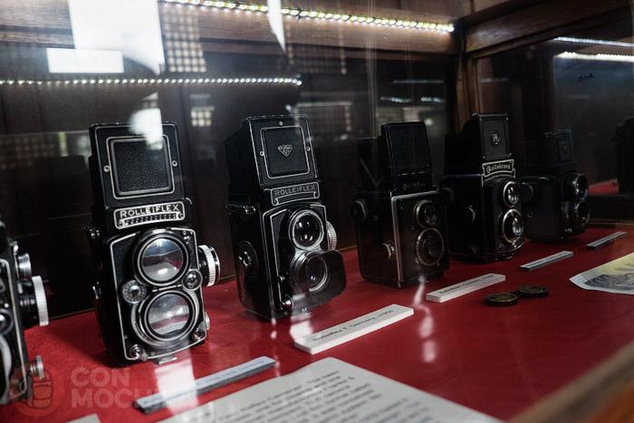 Algunas de las Rolleiflex