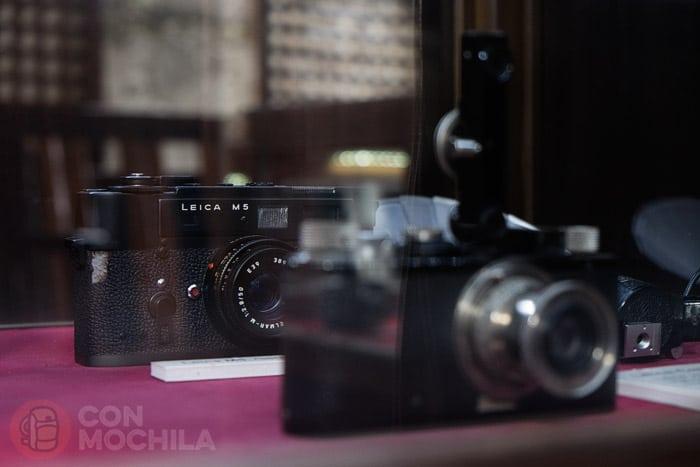 Detalle de las Leica