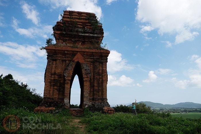 Las ruinas de Tháp Chăm Bánh Ít