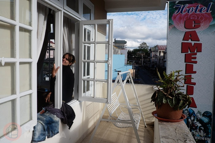 """Nuestra habitación """"con vistas"""""""