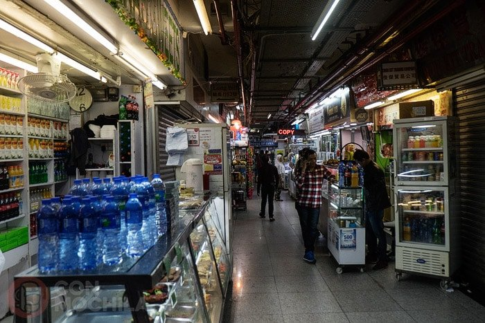 Interior del Chungking Mansions