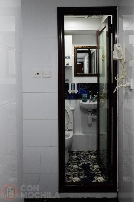 Una imagen del baño