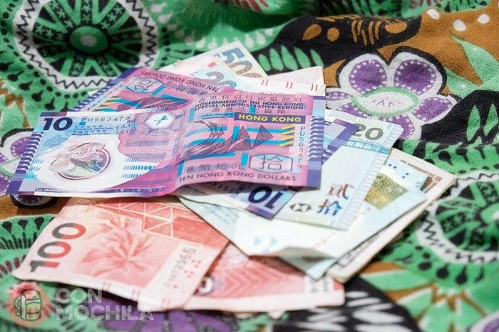 El dólar de Hong Kong
