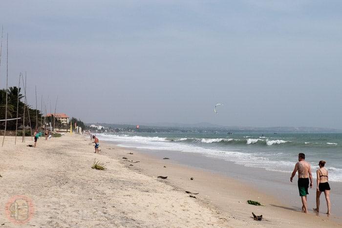 La playa de Mui Ne