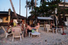 Shantal's a pie de playa