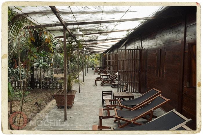El campamento base perfecto desde donde explorar el Delta del Mekong