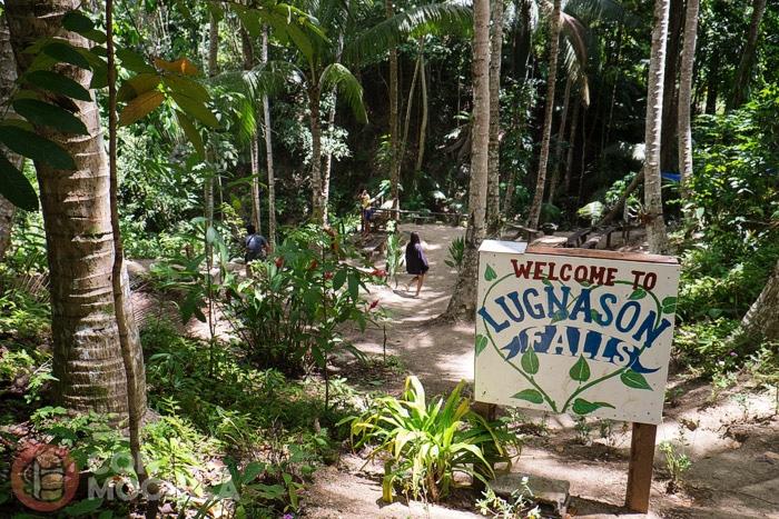 Bienvenidos a las cascadas de Lugnason