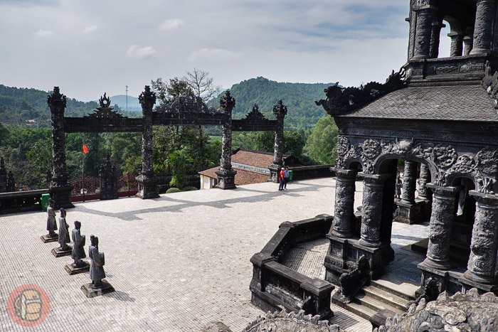 Tumba imperial de Khai Dinh