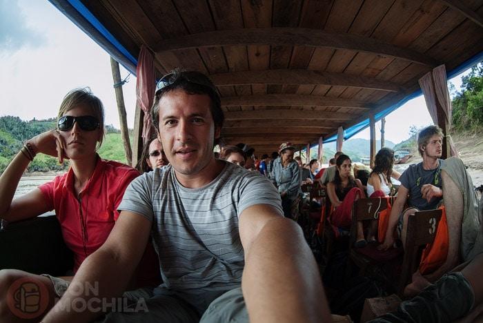 Navegando por el Mekong (¡en mi primer viaje de mochilera!)