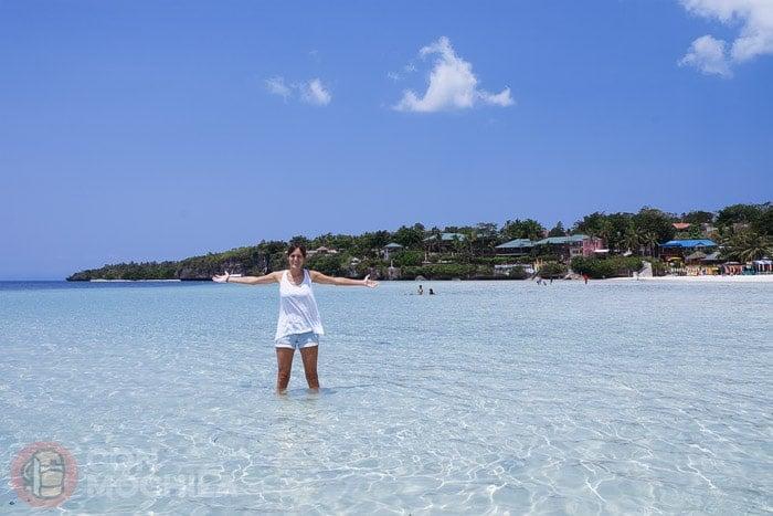 Bahía de Santiago en islas Camotes