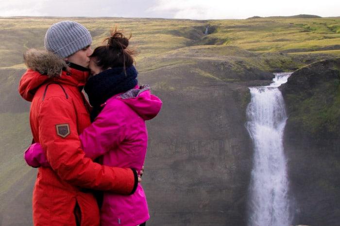 Háifoss, 122 metros de cascada. La segunda más alta de Islandia.