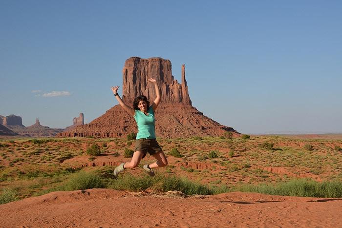 En Monument Valley, un parque natural de película