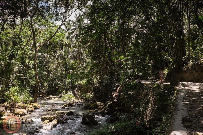 Zona del río