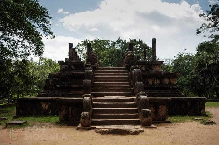 Sala del Consejo del rey Parakaramabahu