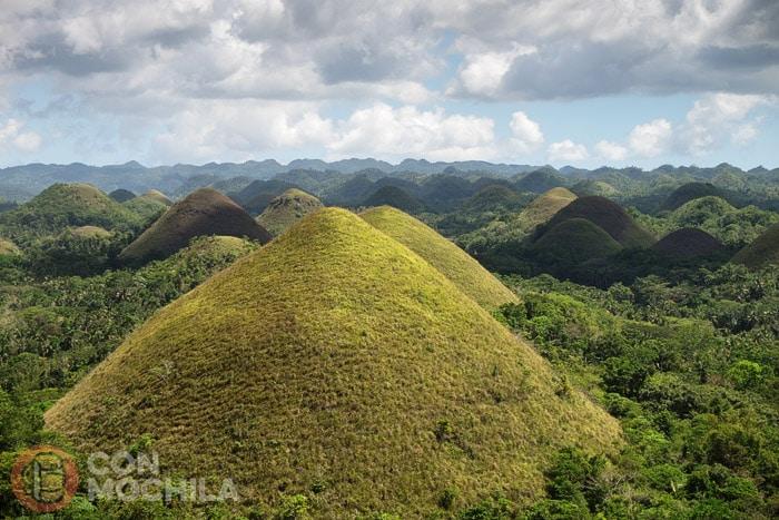 Las famosas Chocolate Hills de Bohol