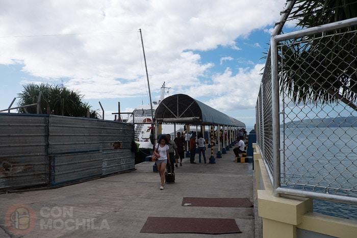 Llegada al puerto de Tagbilaran