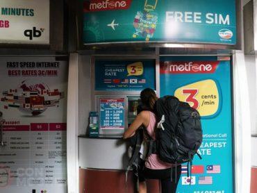 Cómo conseguir una tarjeta SIM con internet en Camboya