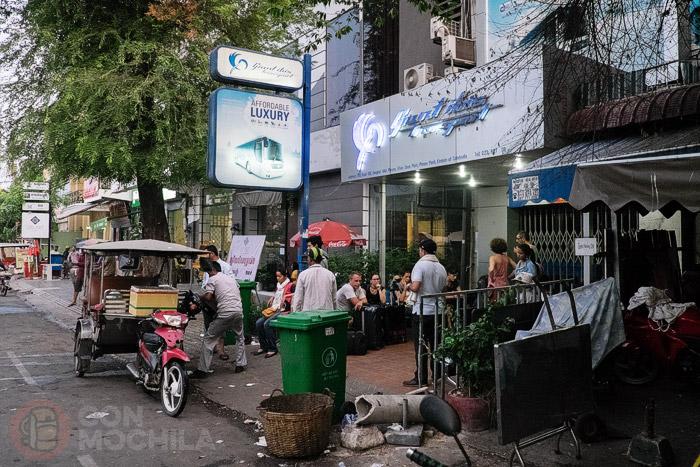 Oficina Giant Ibis en Phnom Penh
