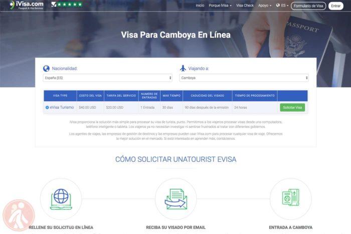 Visado de Camboya online sin complicaciones
