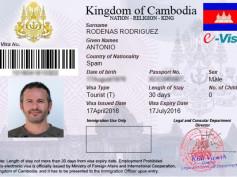 Cómo sacarse el visado de Camboya online (eVisa) paso a paso