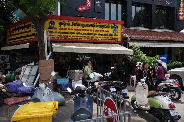 Oficina de Virak-Buntham Express