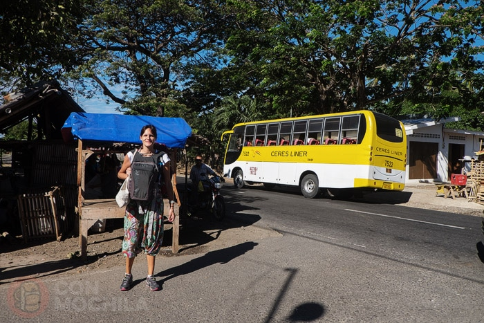 Parada en Malatapay