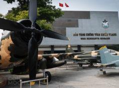 Museo de la guerra de Ho Chi Minh, el más visitado de Vietnam