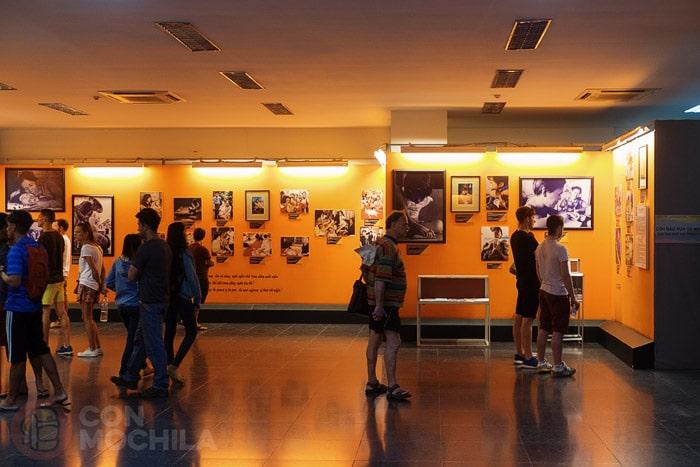 Sala temática sobre el agente naranja