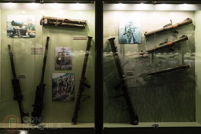 Armas utilizadas en la guerra de Vietnam