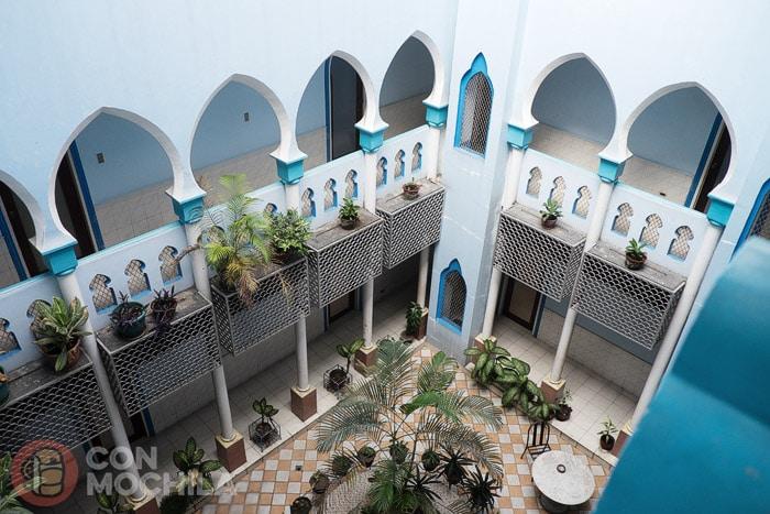 El patio de estilo árabe