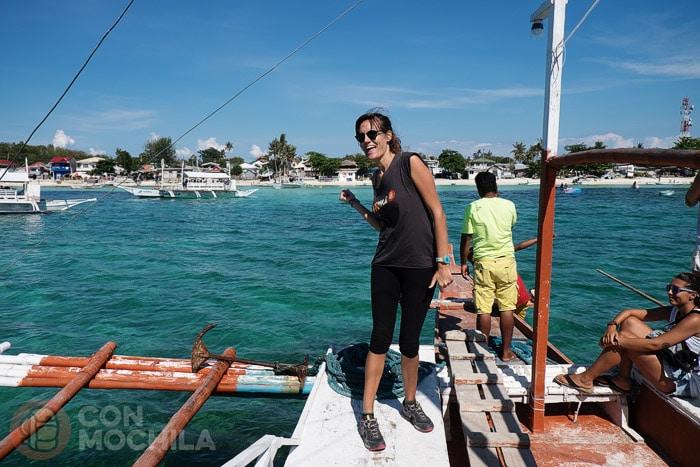 Cómo ir a la isla de Malapascua: ¡Llegamos a Malapascua!