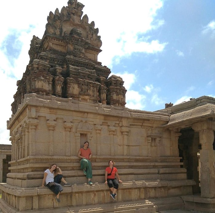 Itinerario de viaje a India: Vijayanagara, templo en Hampi