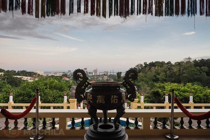 Vistas desde el templo