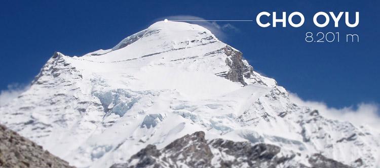 """""""De zero a cim"""". Expedición al Cho Oyu"""