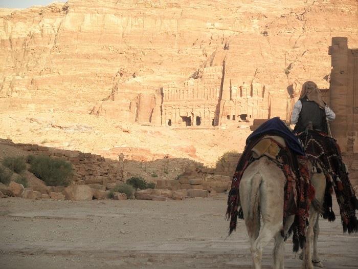 Itinerario de viaje a Israel y Jordania: Un pedacito de la inmensa ciudad de Petra