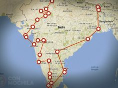 Itinerarios de viaje a India para mochileros o viajeros por libre
