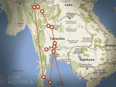 Itinerarios de viaje a Tailandia para mochileros o viajeros por libre