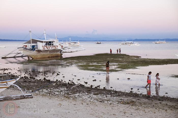Ambiente con la marea baja