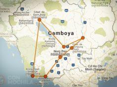 Itinerarios de viaje a Camboya para mochileros o viajeros por libre