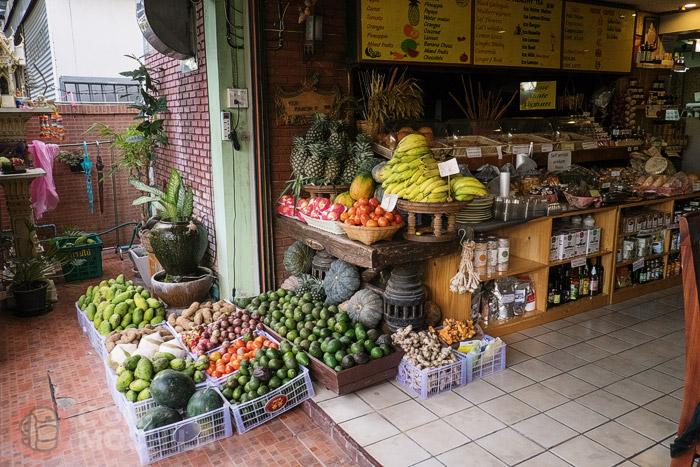 Fruta de la tienda