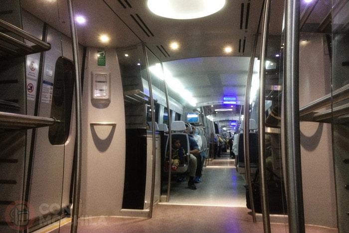 Y ya estamos en el metro