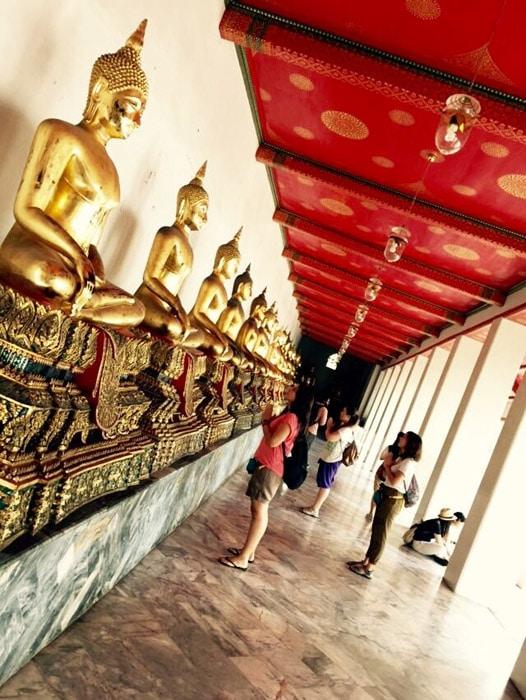 Escapada a Tailandia: Uno de los tantos templos en Bangkok