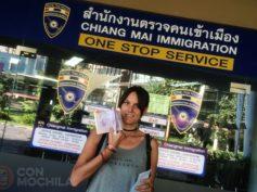 Extensión del visado de Tailandia en Chiang Mai paso a paso