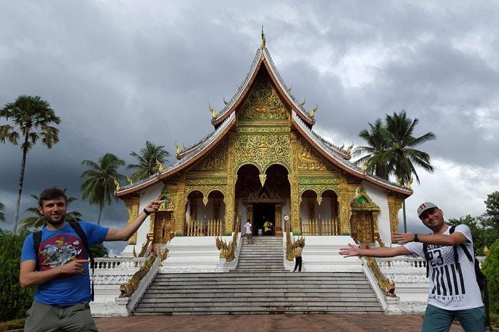 Itinerario de viaje a Laos y Camboya: Templo en Luang Prabang