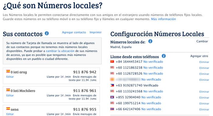 Números locales